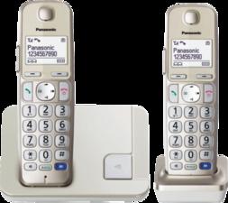 Panasonic KX-TGE212NLN Duo Dect Telefoon