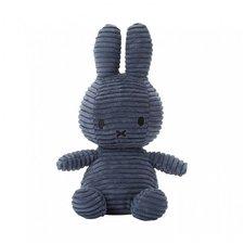 Nijntje Corderoy Knuffel 23 cm Blauw