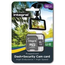 Integral Micro-sdhc Dash En Secur-cam 32gb