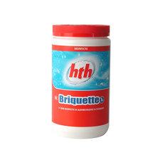 HTH Briquette Chloortabletten voor Zwembad 1 kg