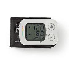 Nedis BLPR100WT Polsbloeddrukmeter Lcd Tijd/datum 4x 30 Geheugenopslag