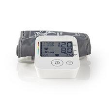 Nedis BLPR120WT Pols Bloeddrukmeter Lcd Tijd & Datum Opslag Voor 60 Metingen