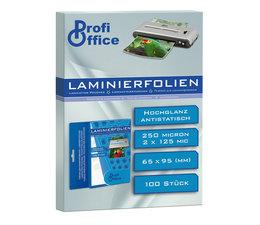 ProfiOffice PO-19028 Lamineerhoes 125 Micron 100 Vel 65x95mm