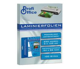 ProfiOffice PO-19034 Lamineerhoes 125 Micron 100 Vel 54x86mm
