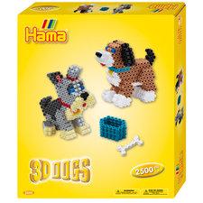 Hama 3D Strijkkralen Honden 2500 Stuks