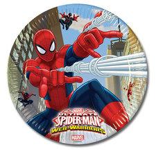 Spiderman Bord 23cm 8 Stuks