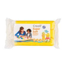 Creall Boetseerklei Soft Geel 500 gram