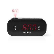 Nedis CLAR009BK Digitale Projectie Klokradio Met Alarm 0,9