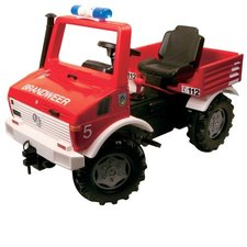 Rolly Toys 036639 RollyUnimog Fire Brandweer Trapauto