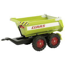 Rolly Toys 122219 RollyHalfpipe Claas Trailer