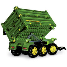 Rolly Toys 125043 RollyMulti John Deere Trailer 3-assig