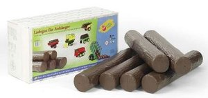 Rolly Toys 409631 RollyRundholz Boomstammen 6 stuks