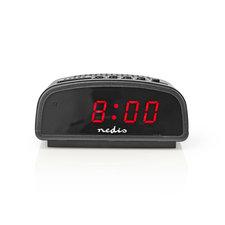 Nedis CLDK008BK Digitale Alarmklok Led Van 0,6