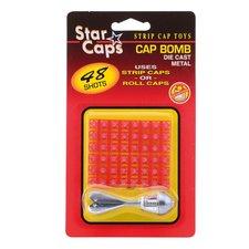 Star Caps Die-Cast Klappertjesraket met 48 Klappertjes
