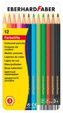 Eberhard Faber EF-514813 Kleurpotloden Classic Metaaletui A 12 Stuks