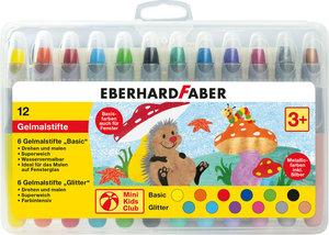 Eberhard Faber EF-529112 Gelkleurpotloden 12 Kleuren In Plastic Etui