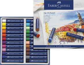 Faber Castell FC-127024 Oliepastels Creative Studio Etui A 24 Stuks.
