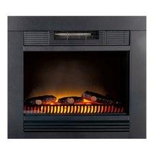 Classic Fire Chicago Elektrische Inbouw Sfeerhaard 1800W Zwart