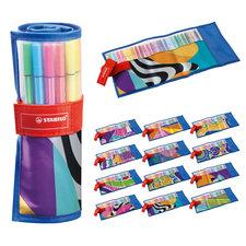 Stabilo Stiften in Etui 25 Kleuren Assorti