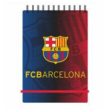 FC Barcelona Notitieblokje met Spiraal en Elastiek