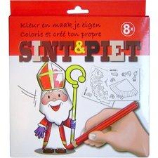 Maak Je Eigen Sinterklaas Figuren 8 stuks