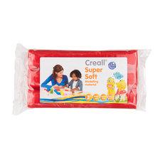 Creall Boetseerklei Soft Rood 500 gram