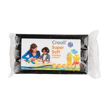 Creall Super Soft Boetseerklei Zwart 500 Gram