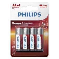 Philips AA Alkaline Batterijen 4 Stuks