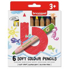 Bruynzeel Soft Colour Kleurpotloden 6 Stuks