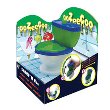 Shake'N Go Maak Je Eigen Slijm Toilet