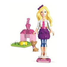 Mega Bloks Barbie & Friends met Figuur/Mode-Accessoires/Decorelementen Assorti