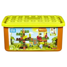 Mega Bloks Jungle Fun Set met 4 Block Buddies