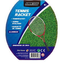 Alert Aluminium Tennisracket 25 Inch 6+ In Tas