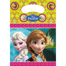 Disney Frozen Uitdeelzakjes 6 Stuks
