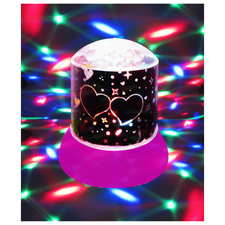 Disco Nachtlamp Galaxy Roze