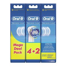 Oral B EB20 Precision Clean Opzetborstels 6 Stuks