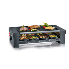 Severin RG2687 Pizza/Raclette Grill 1150W Zwart