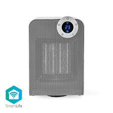 Nedis WIFIFNH20CWT Slimme Ventilatorverwarming Met Wi-fi Compact Thermostaat Oscillatie 1800 W Wit