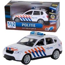 112 Pull-Back Politieauto met Licht en Geluid 1:43