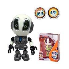 Die-Cast Robot met Licht en Geluid Grijs