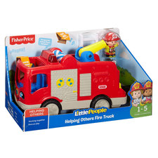 Fisher Price Little People Grote Brandweerauto