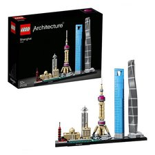 Lego Architecture 21039 Shanghai 597-delig