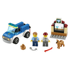 Lego 4+ City 60241 Politie Hondenpatrouille
