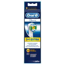 Oral B 3D White Opzetborstels 4 Stuks