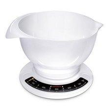 Soehnle 65054 Culina Pro Analoge Keukenweegschaal met Mengkom 2.5L Wit