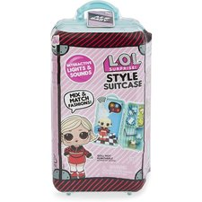 L.O.L. Surprise Style Suitcase + Licht en Geluid Assorti