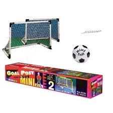 Set Mini Goals 2 stuks + Bal