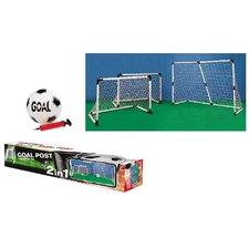Goal 2in1 2 Doelen: 91,5x63cm of 1 Doel: 183x121cm