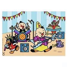 Bumba Puzzel Muzikant 6 Stukjes