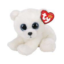TY Beanie Babies Knuffel IJsbeer 15 cm